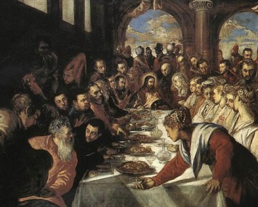 Jesus at Table