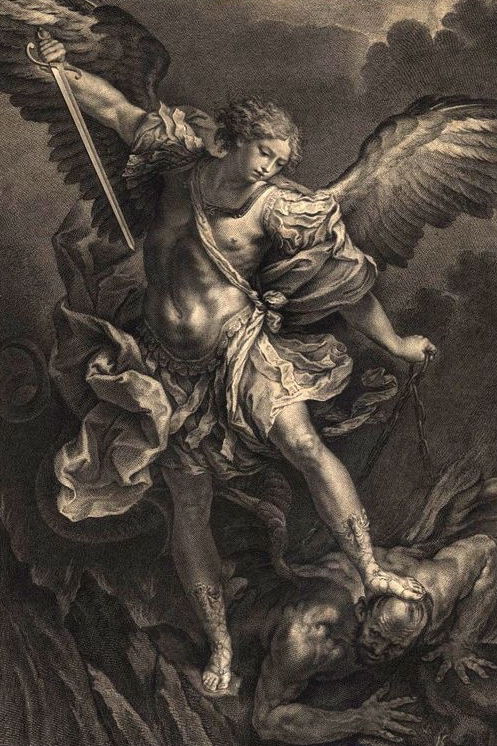 picture regarding St. Michael the Archangel Prayer Printable named The St. Michael the Archangel Prayer The Different Route